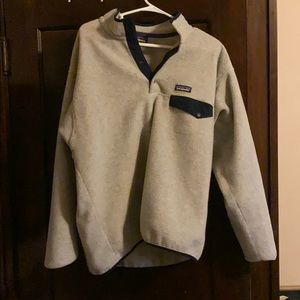 Patagonia snap synchilla fleece size large